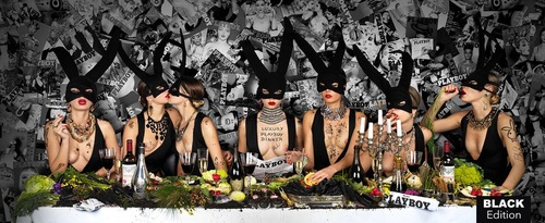 "Beauté Sauvage - ""Luxury Playboy Dinner Black Edition, 2020"""