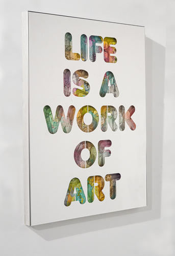 SERIE COLORS - Life is a work of art, 2021