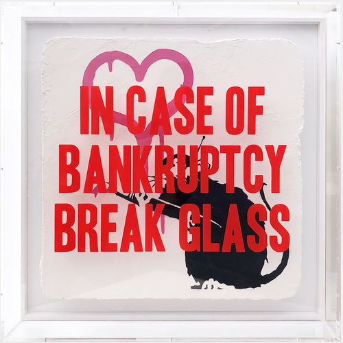 IN CASE OF BANKRUPTCY - Love Rat Pink