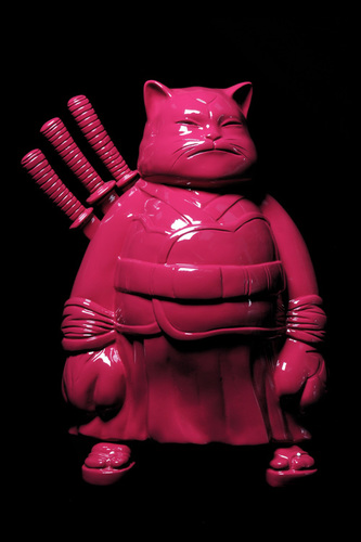 Big samurai dark pink