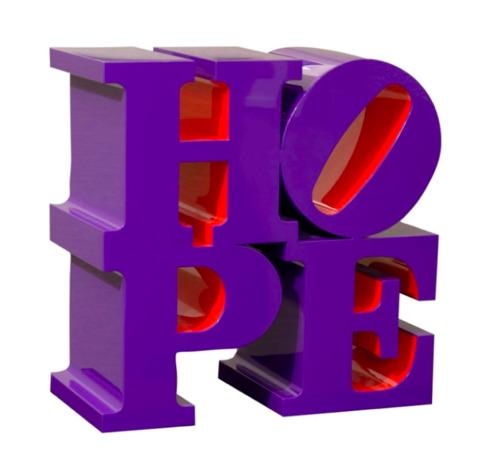 Hope (Violet/Red) 2009