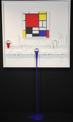 Flow 156 - Hommage à Mondrian