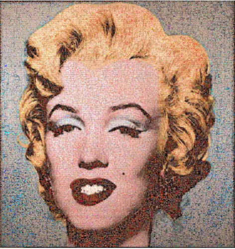 Marilyn - Tribute to Warhol