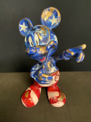 MICKEY - Made in USA vintage (40cm)
