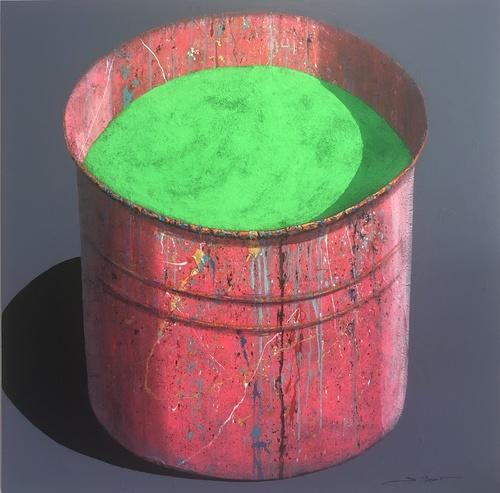 Pot d'atelier Vert