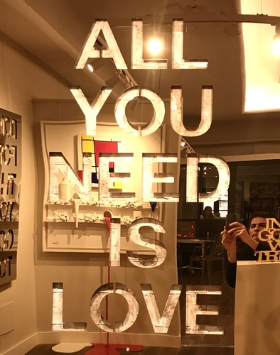 All you need is love - Inox or rosé