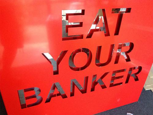 Eat Your Banker - Alu rouge