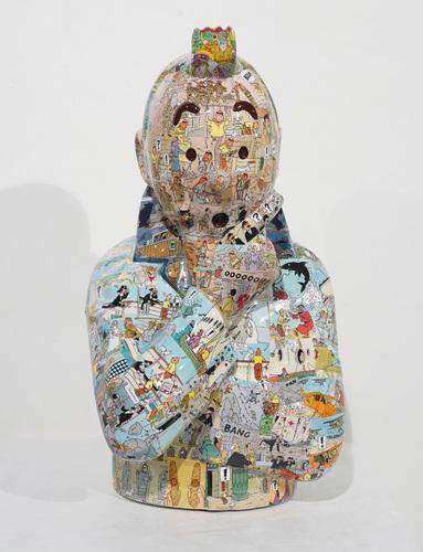 """TINTIN Penseur - """"L'ordre et le chaos"""" Cigare des pharaons (40 cm)"""