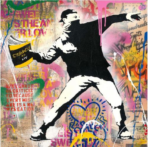 Banksy Thrower, 2020