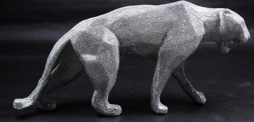 Wild panther - strass