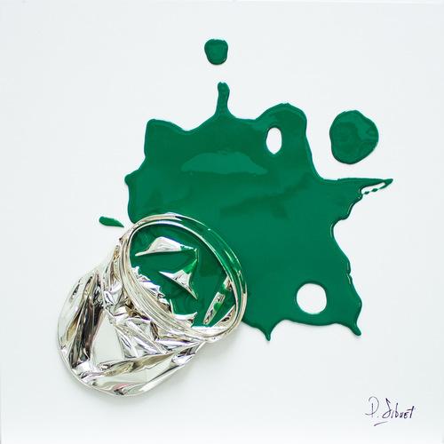 Splat Chromé 012 - Vert Bois