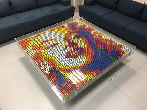 Table Rubiks - Marylin Monroe