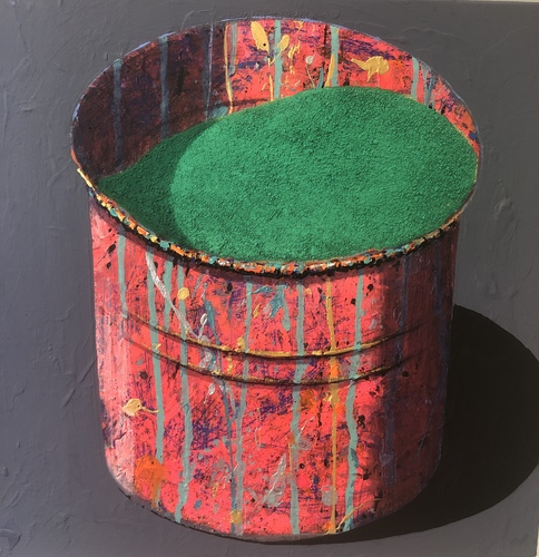 Pot - vert foncé
