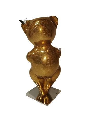 Smoothy Gold Glitter (résine - paillettes)