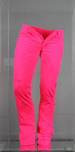Wild jeans Pink pigments