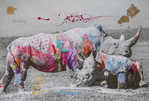 Rhino Love (183cm)