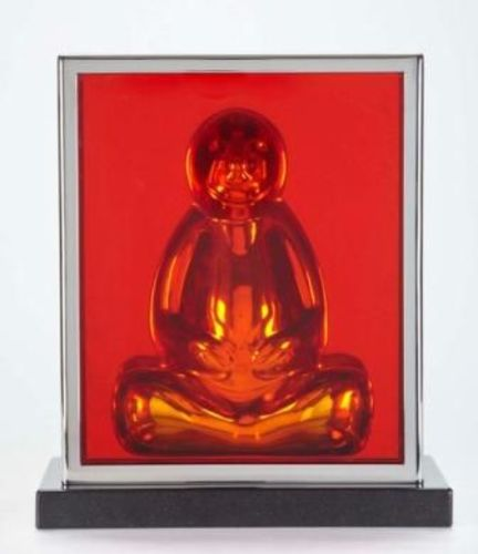 Buddha (slab desk top) orange