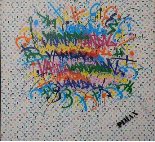 Louis le Vandal (Monogramme blanc), 2015