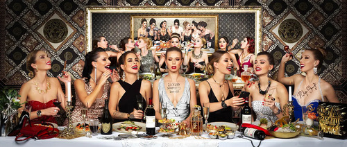 """Happiness is back - """"Luxury Happiness Dinner"""", 2021"""