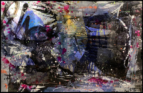 Abstract sombre
