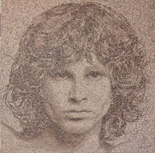 Portrait Jim Morrison