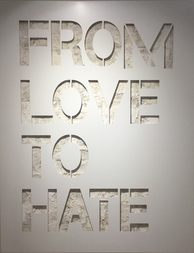 From love to hate-blanc