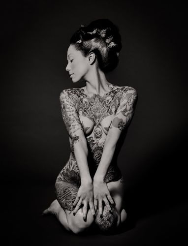 """GEISHA INK - """"The Flower & The Willow"""""""
