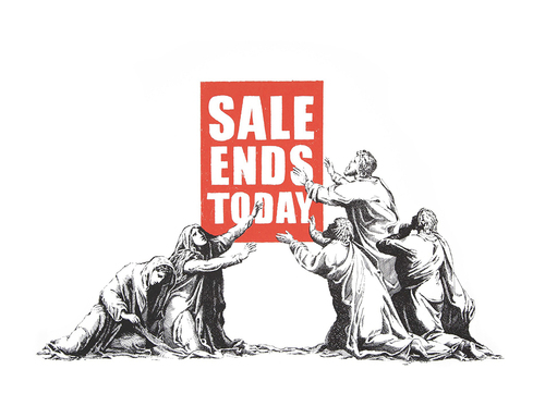 Sale Ends Today (signed)