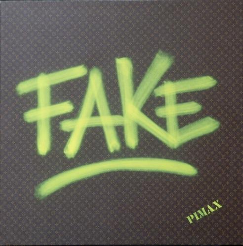 Fake (Monogramme marron), 2014