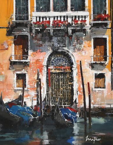 Venise devant la porte
