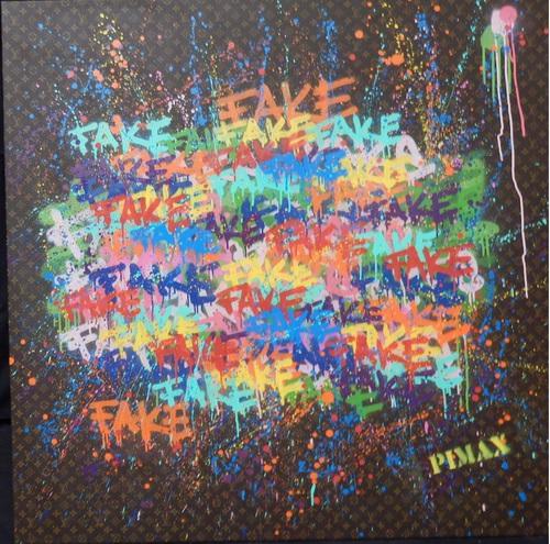 Enough faker (Monogramme marron), 2013