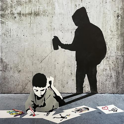 When I Grow Up...(Street Artist) - Série 2